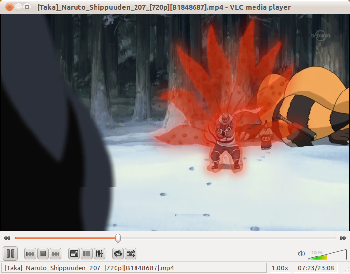 VLC Media Player di Ubuntu 11.04 Natty Narwhal