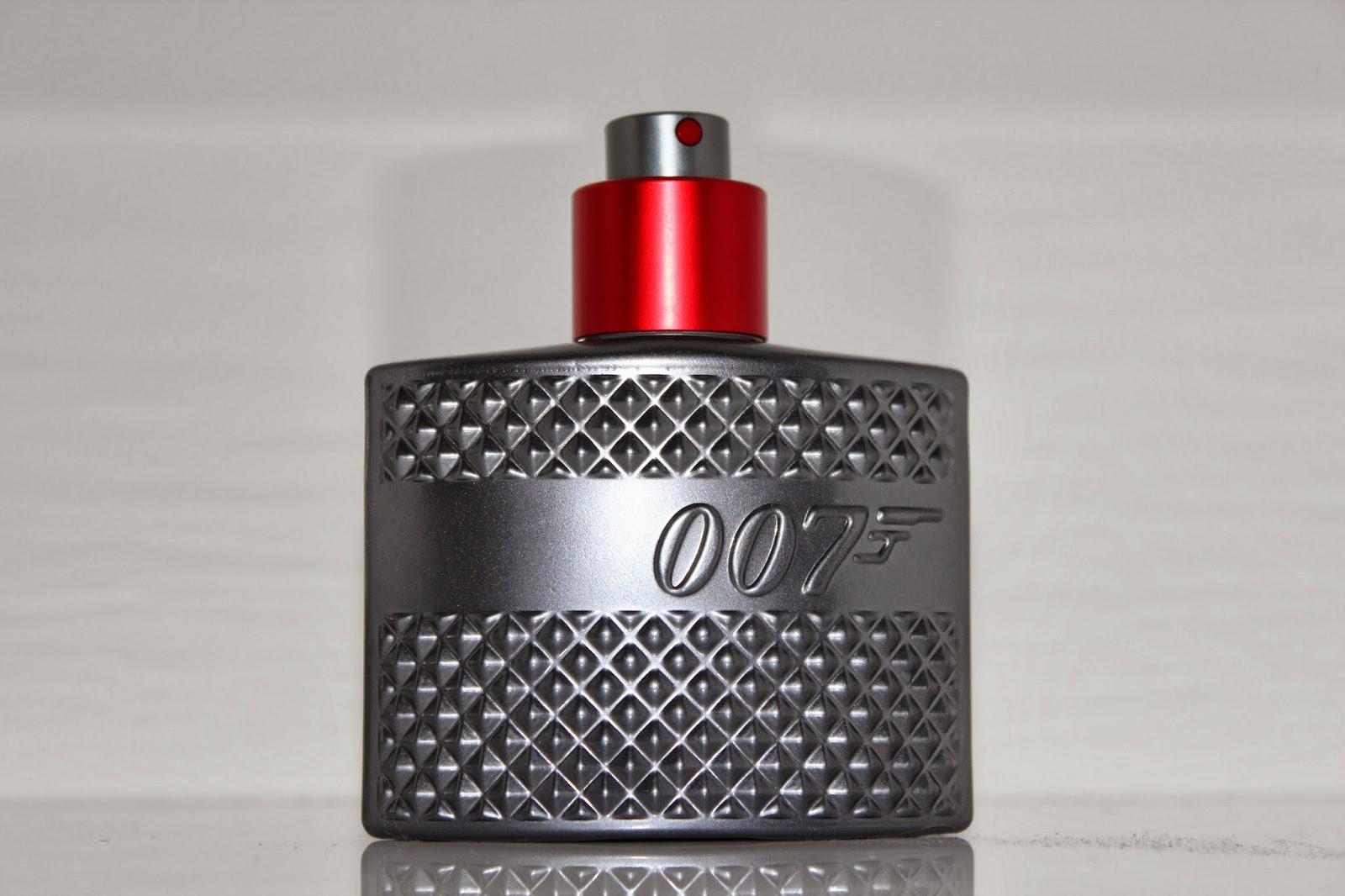 James Bond 007 Quantum fragrance review!