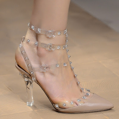 valentino plexi heeles shoes