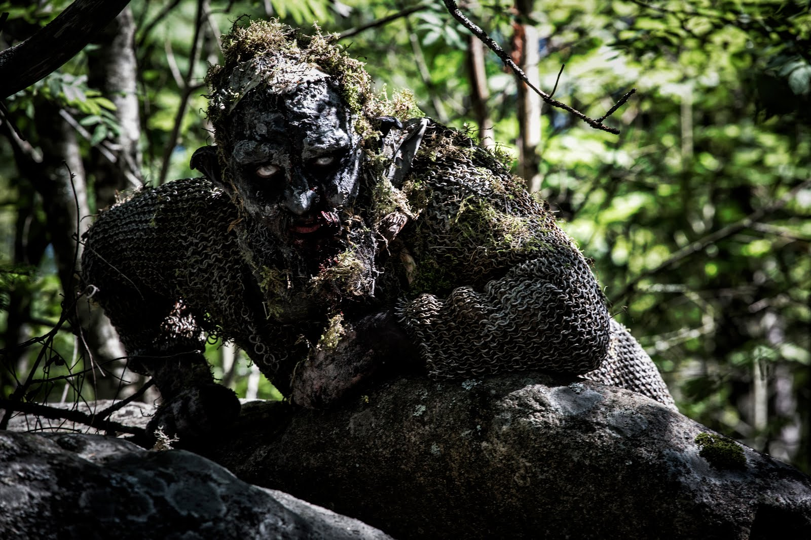 Peikko. Chainmail troll. Backwood Madness.
