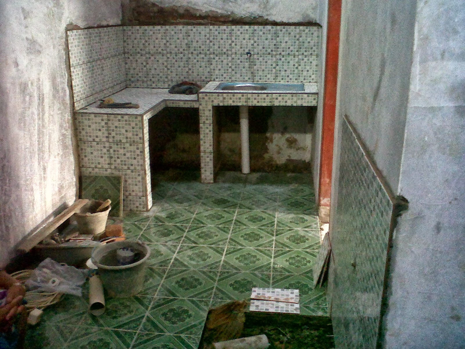 dapur minimalis di rumah type 36 72 imad analis blog