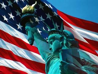 bandeira EUA, Estatua da liberdade, dst