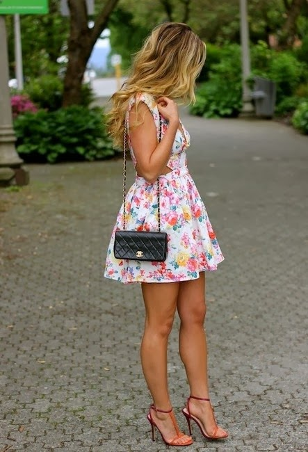 Stunning Flower Patterned Windsore Store Dresses