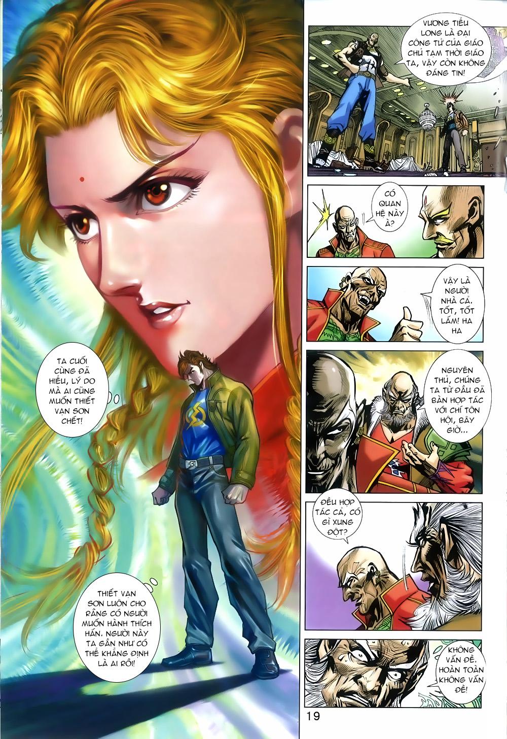 Tân Tác Long Hổ Môn chap 816 Trang 19 - Mangak.info