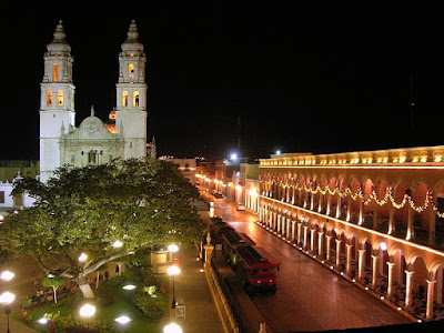 Side Trip From Merída-- Beautiful Campeche... How Safe?