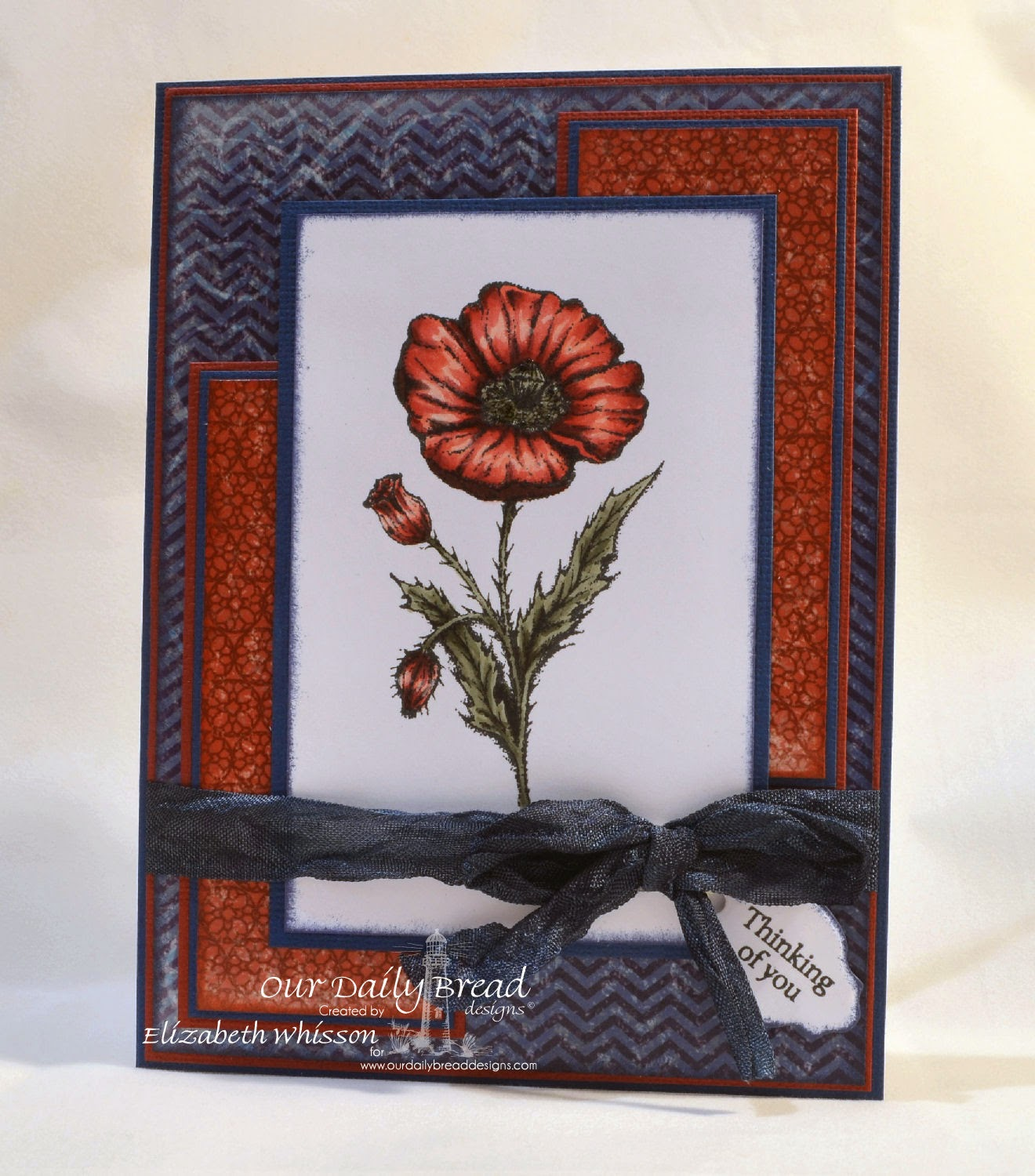 Our Daily Bread Designs, Mother's Day, Mini Tag, ODBD Mini Tag Dies, Patriotic Collection, Designed by Elizabeth Whisson