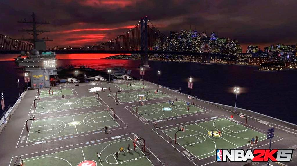 NBA 2K15 New MyPark for Old Town Flyers