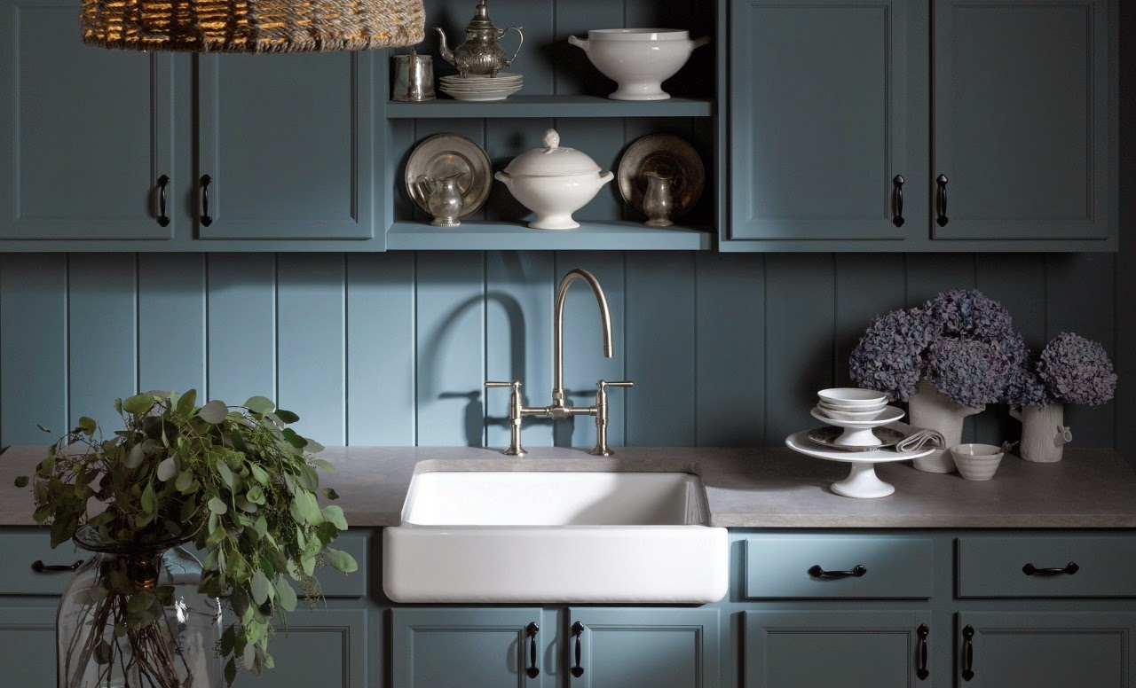 Fregaderos que le dan un toque personal a la cocina cocinas con estilo - Fregaderos de colores ...