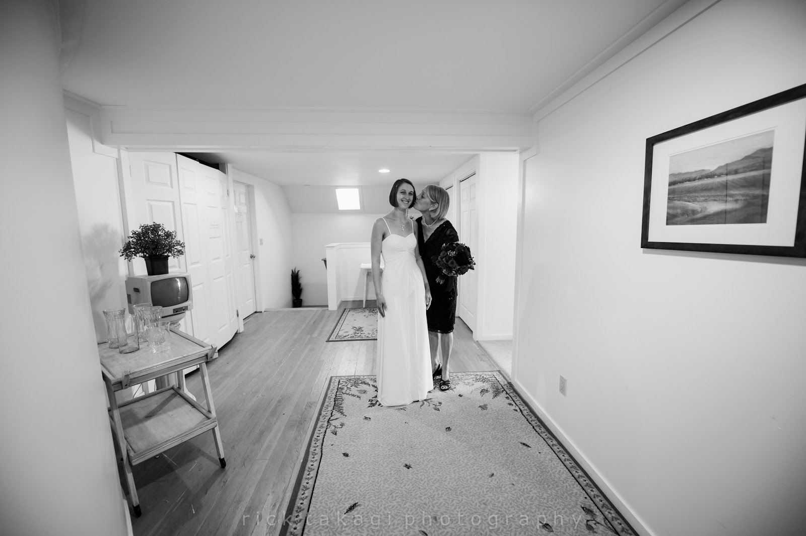 Bridal suite of The Grand Willow Inn - Patricia Stimac, Seattle Wedding Officiant