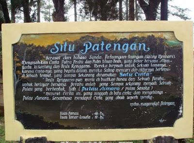 Situ Patengan Wisata alam bandung selatan