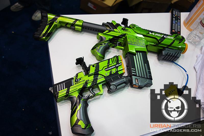 Tek Recon Custom Painted Hammerhead