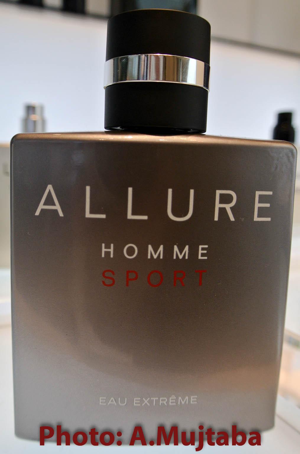connoisseur de parfum perfume review chanel allure homme sport eau extr me. Black Bedroom Furniture Sets. Home Design Ideas