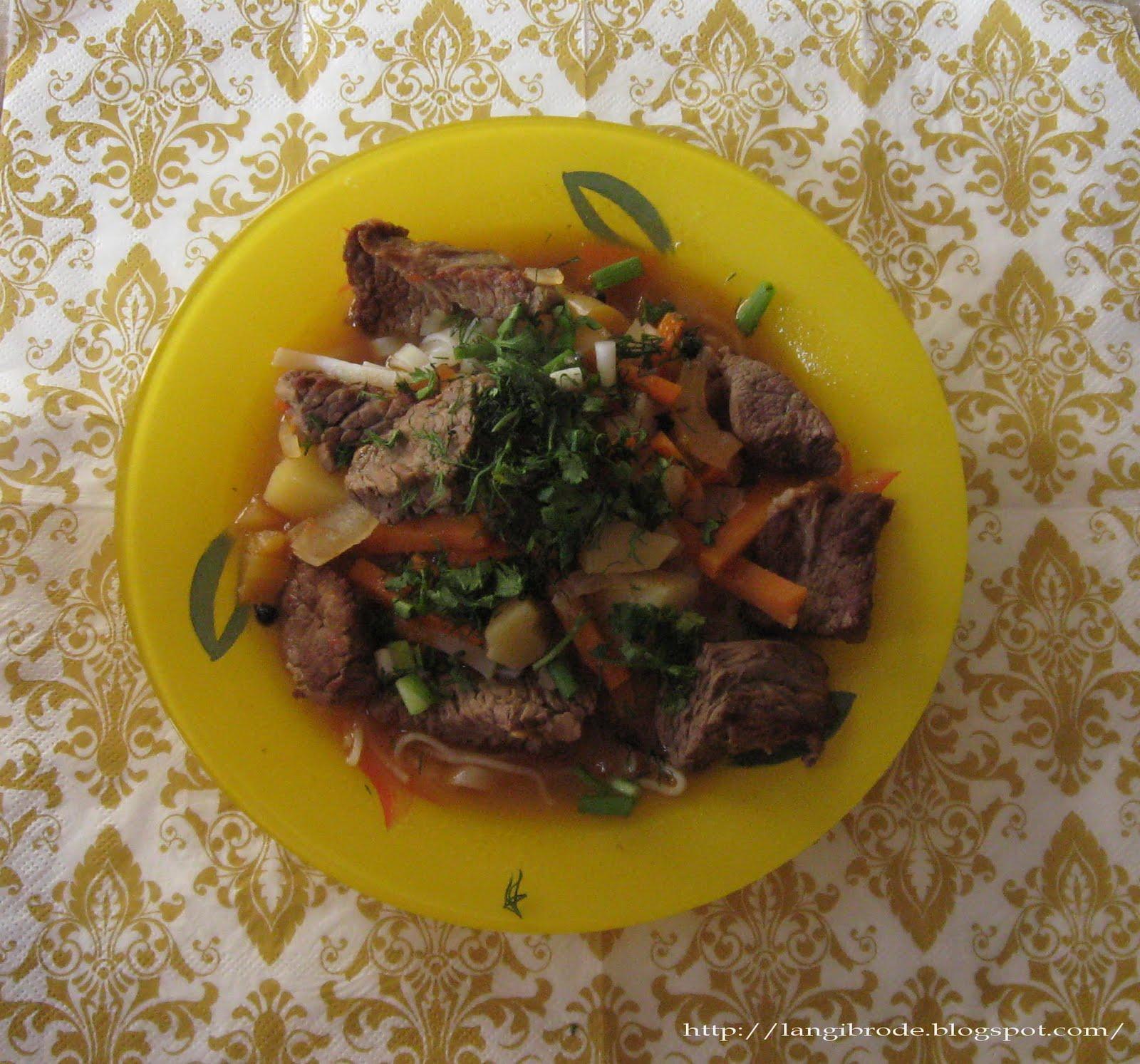 Рецепт узбекской кухни пошагово