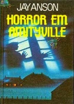 livro de terror horror em amityville