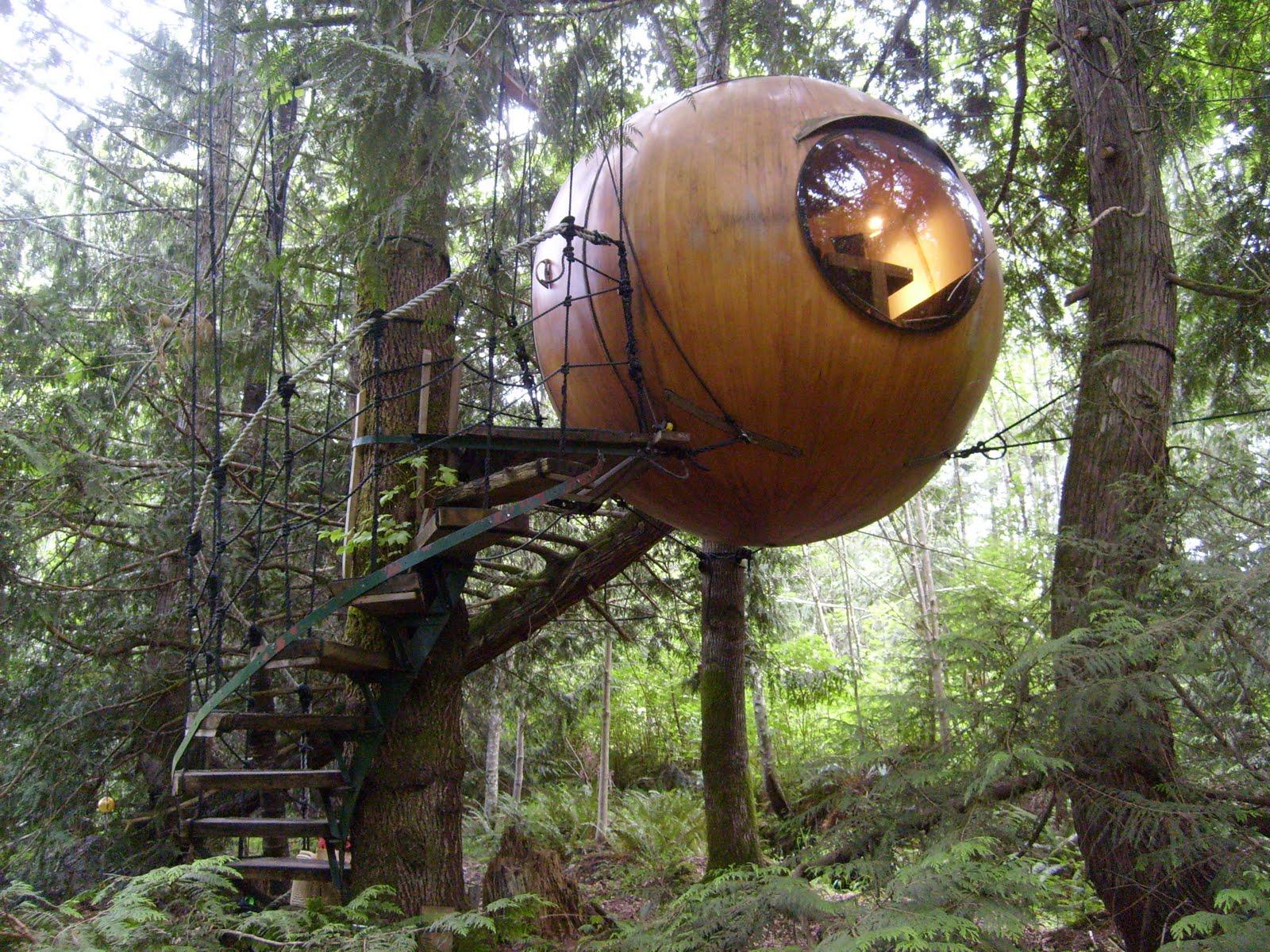 Canada Tree House Spheres