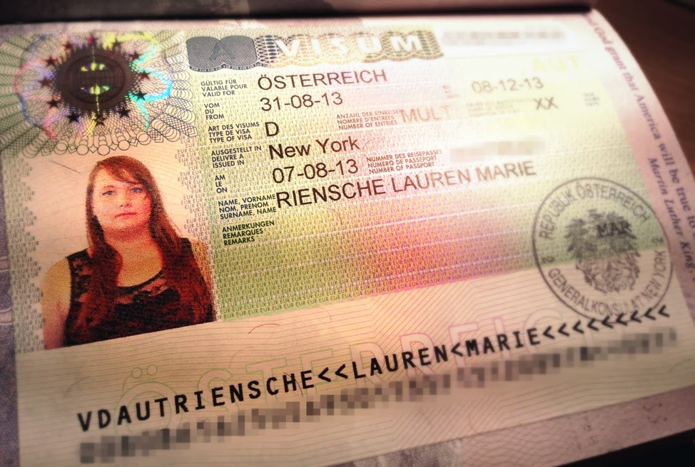 Visa Application — Austria