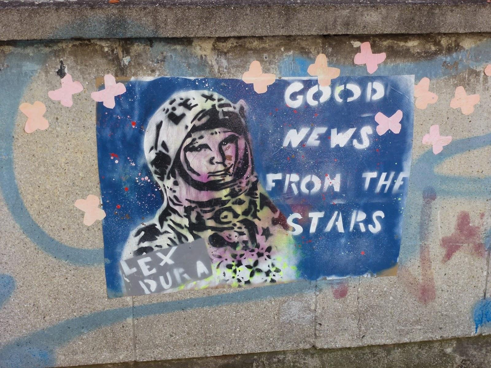 Streetart, Urbanart, Graffiti, Stencil