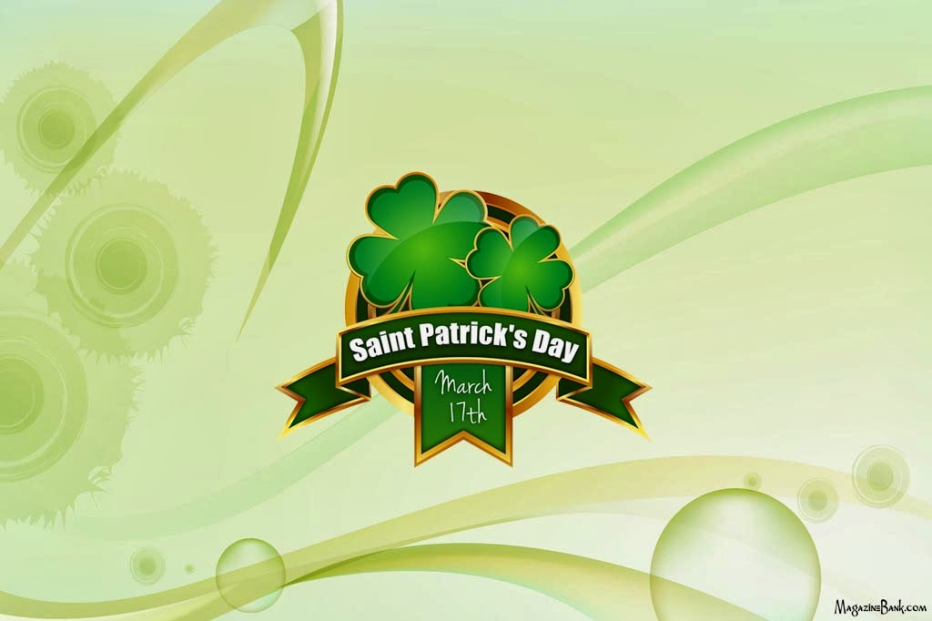 Happy Saint (St) Patrick's Day 2014 Wishes Greeting Cards Wallpapers