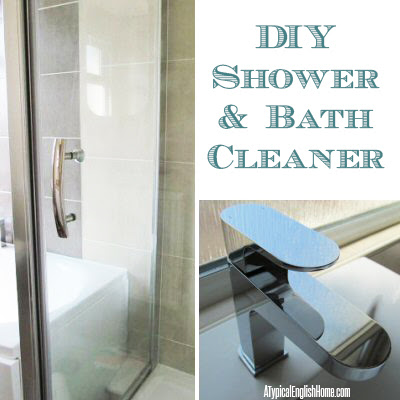 typical english home natural shower cleaner recipe