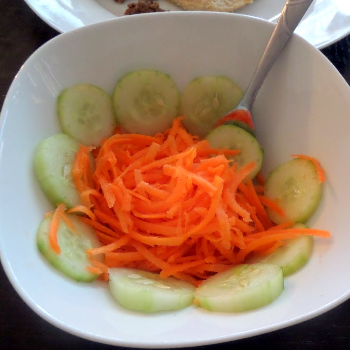 Simple Carrot and Cucumber Salad | Joybee, What's for Dinner?