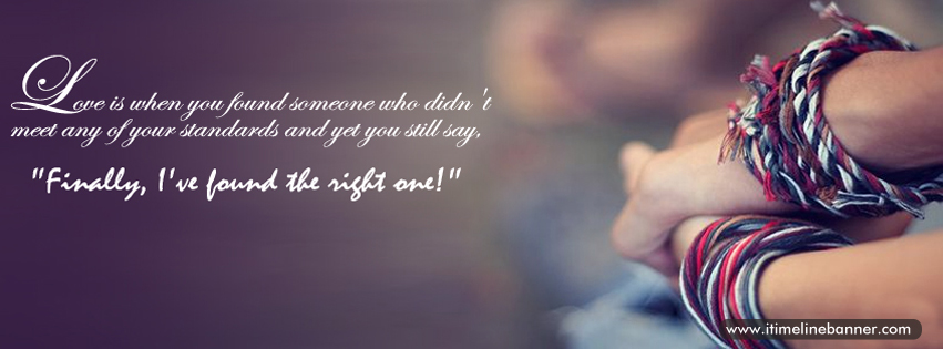 Facebook Timeline Covers Love Quotes