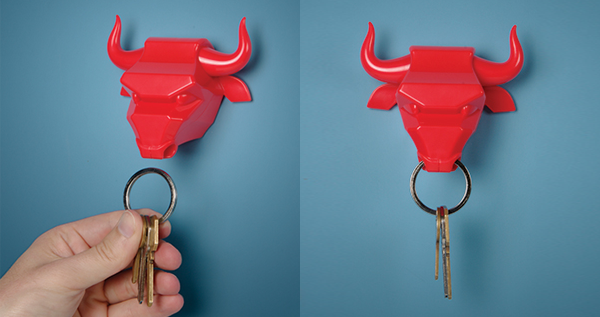 Bull Nose Keyring Holder