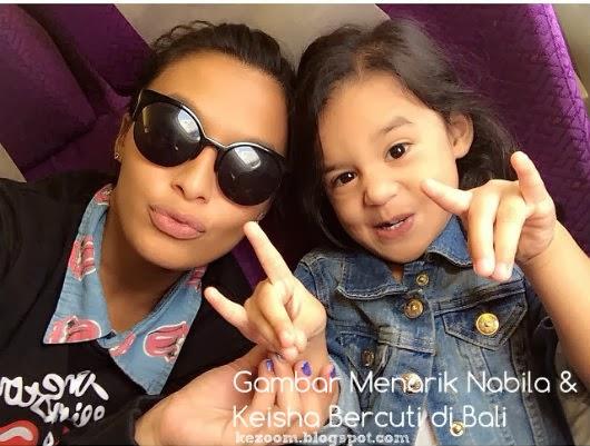 Gambar Menarik Nabila & Keisha Bercuti di Bali
