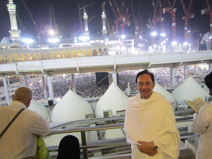Gambar Anwar Ibrahim tersebar lagi saksikan!