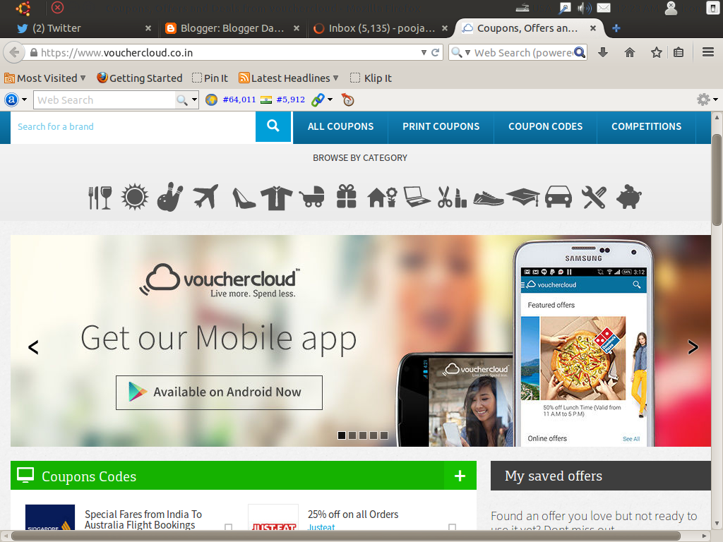 Shop More In Less With Vouchercloud image