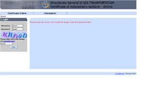 www.pelaut.go.id check sertifikat pelaut