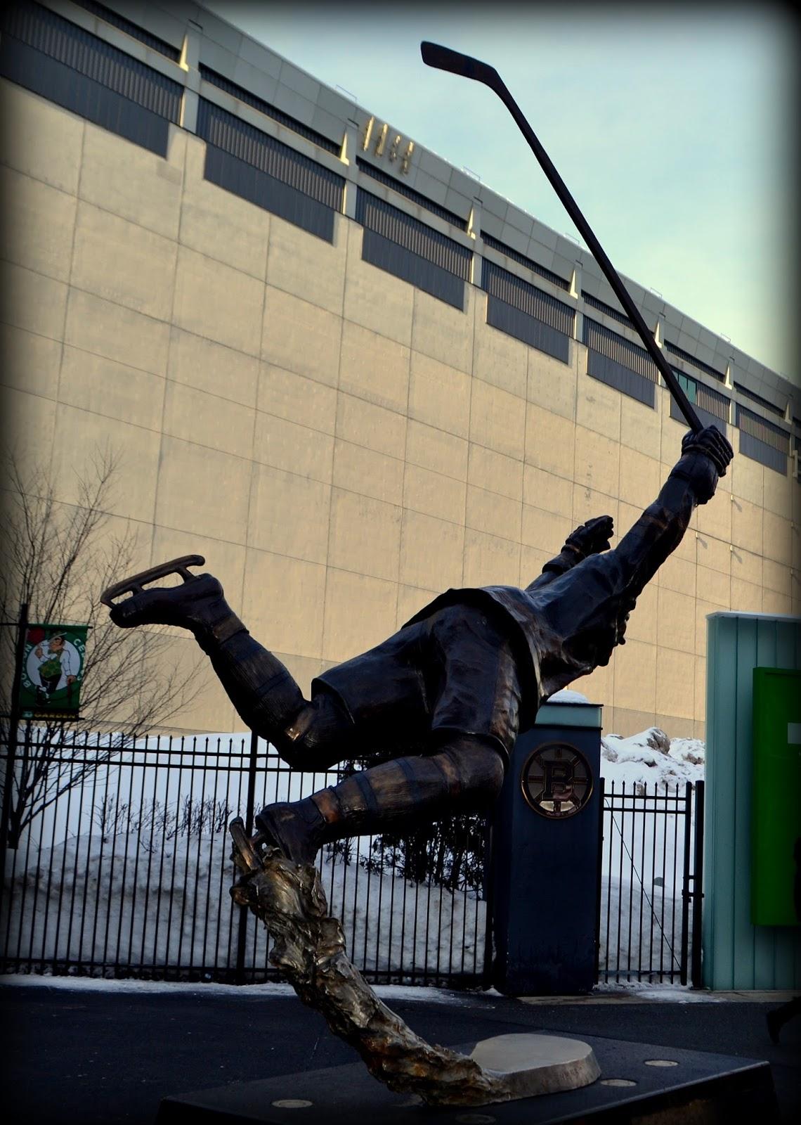 bobby orr, number 4, 4, statue, bruins, boston