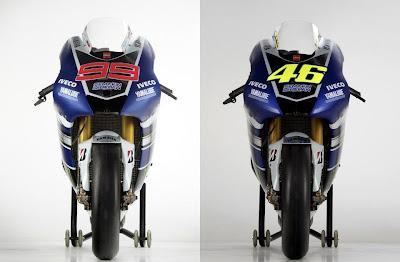 Yamaha YZR-M1 motogp 2013 - JL99 - VR46
