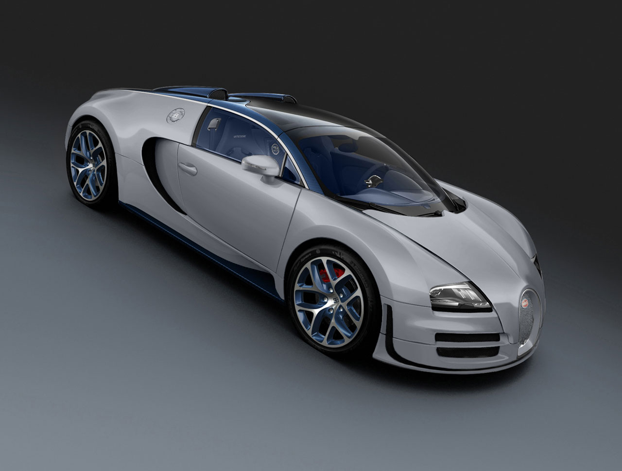 bugatti brings veyron grand sport vitesse gris rafale to br. Cars Review. Best American Auto & Cars Review