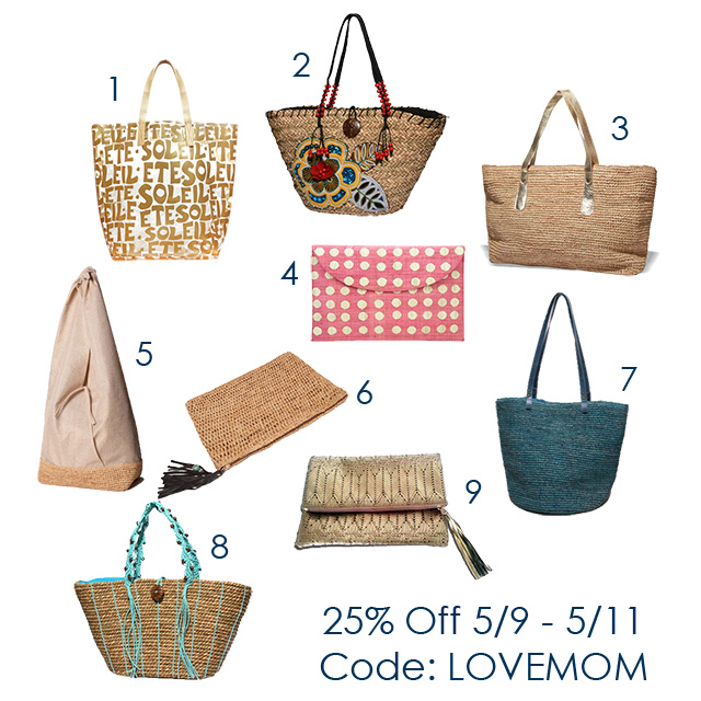 Moms Summer Bag and Tote Offer
