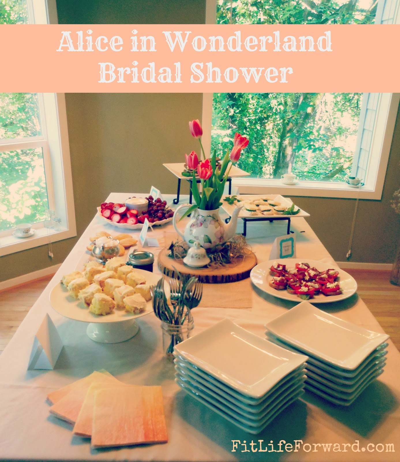 Alice in Wonderland Bridal Shower