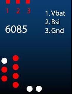 Nokia 6085 Pinout