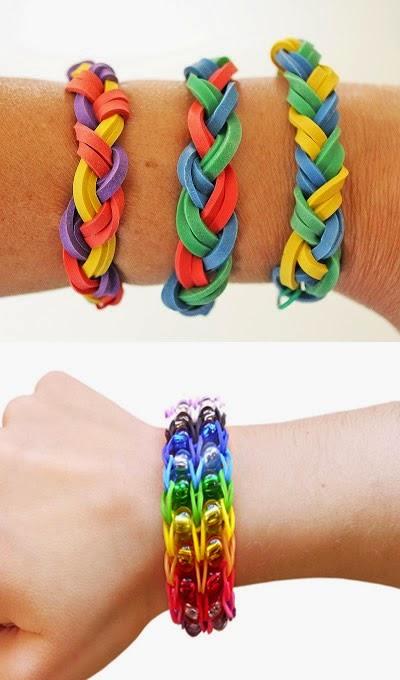 Come si fanno i braccialetti con gli elastici