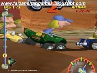 Toon car game