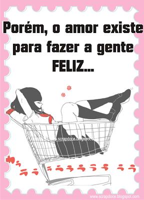 Foto Mensagem de Amor/Felicidade para Compartilhar no Facebook