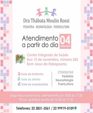 DRª THÁBATA MOULIN ROSSI