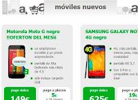 Precios de móviles AMENA - Enero 2014
