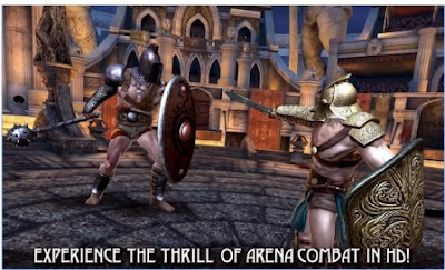 Game Action Arena Gladiator Terbaik Blood Glory APK Android