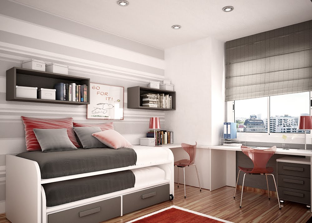 Space Saving Ideas For Small Kids Rooms Sweet Home Custom Bedroom Space Saving Ideas Plans