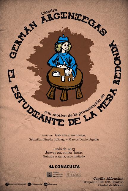 """Se presenta reedición del libro """"El estudiante de la mesa redonda"""" de Germán Arciniegas"""