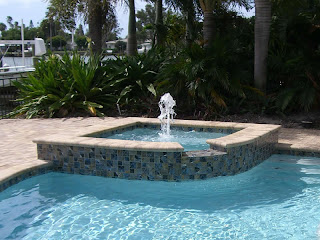 In ground hot tubs Tropical Pools and Pavers