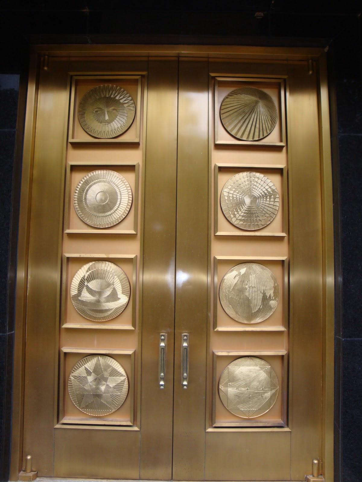 The Trumpet Stone The Washington Dc Temple Doors
