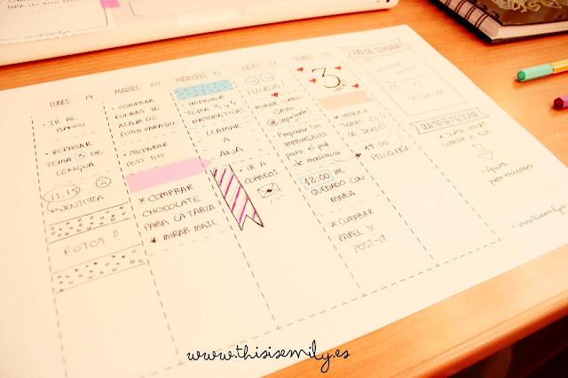 planning, planner, week, weekly, organitation, creative, freebie, printable