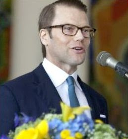 Sweden's Prince Daniel