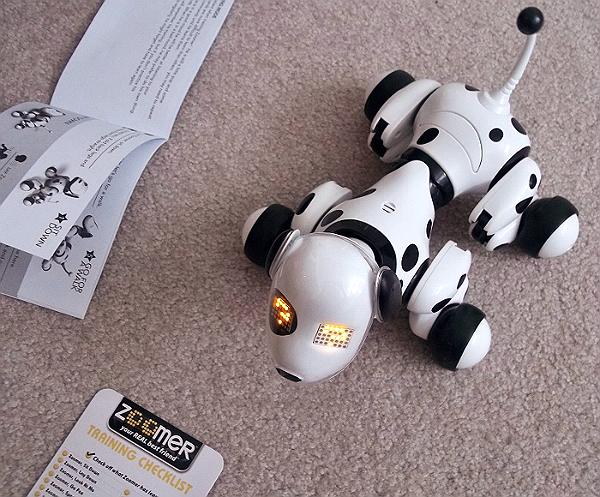 Zoomer the Robotic Dalmation