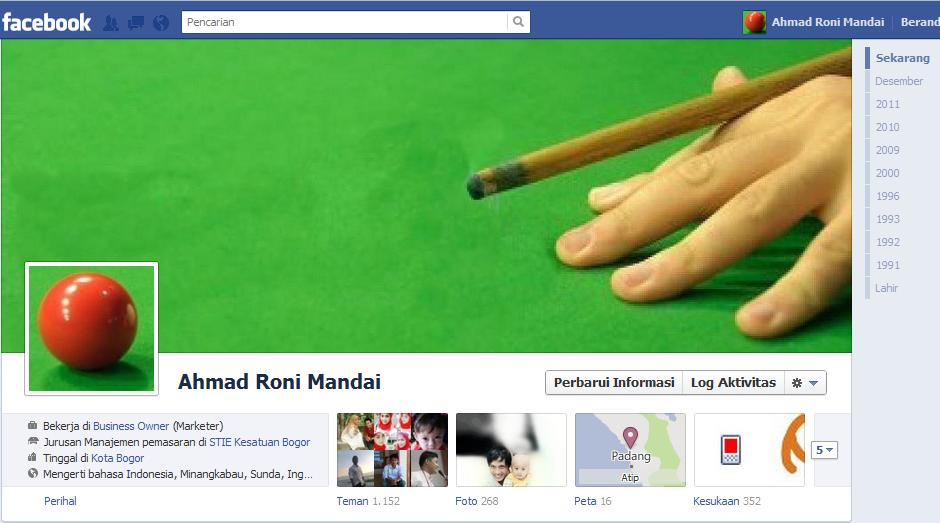 Manz Ciater Blog's: Sampul Facebook